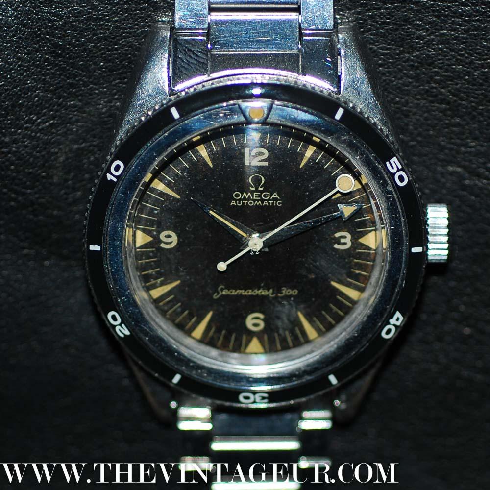Vintage omega seamaster 300 2913 2914