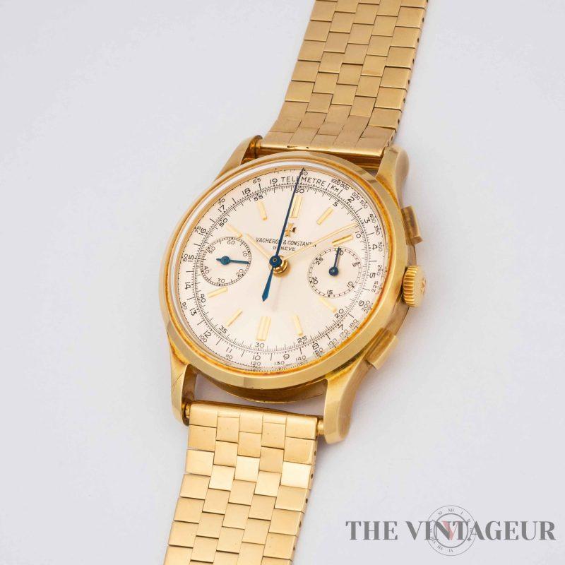 Vacheron Constantin – 18K Yellow Gold Chronograph Wristwatch, Ref. 4072